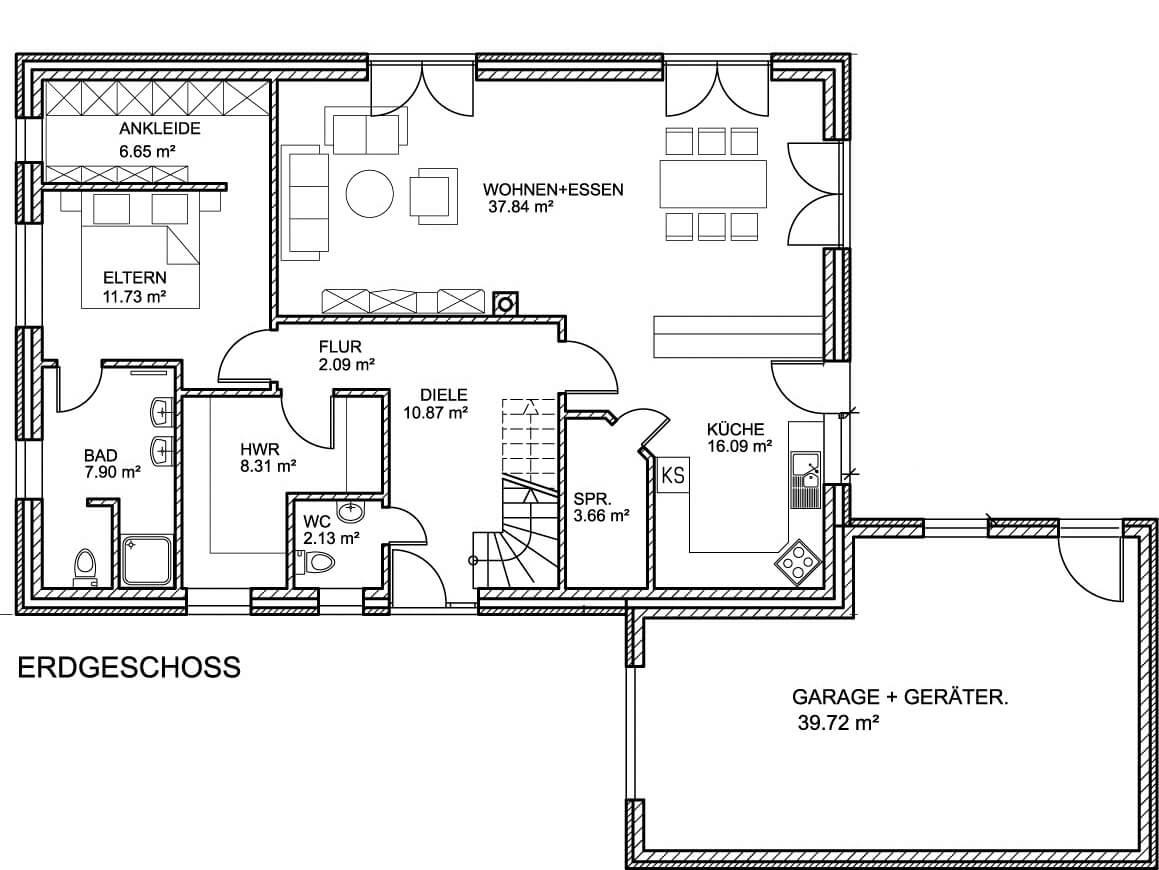 Landhaus 213 - Landhaus mit über 200 qm