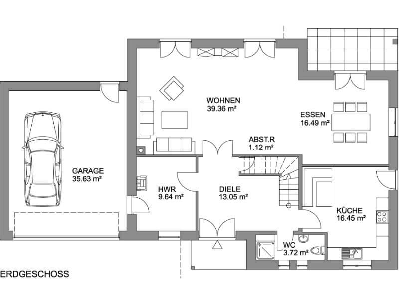 Stadtvilla Grundriss 150 Qm : stadtvilla toskana 164 stadtvilla grundriss ber 150 qm ~ Bigdaddyawards.com Haus und Dekorationen