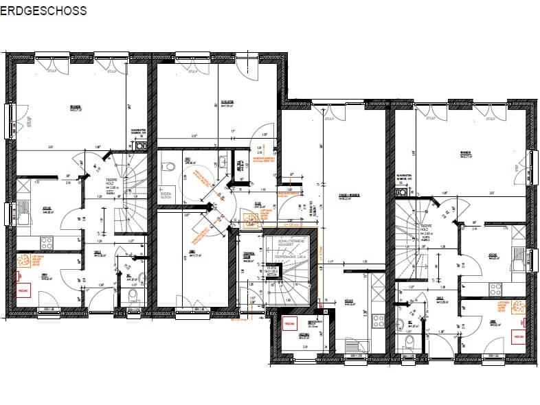 mehrfamilienhaus mit 5 wohneinheiten bauen. Black Bedroom Furniture Sets. Home Design Ideas