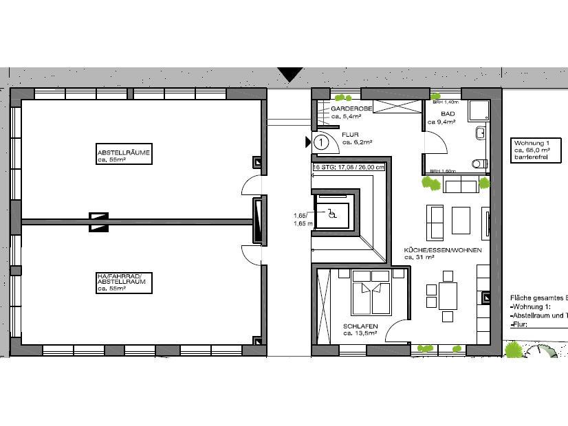 Mehrfamilienhaus mit 11 Wohnungen bauen