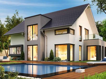 mehrgenerationenhaus 231 mehrgenerationenhaus mit weit ber 200 qm grundriss. Black Bedroom Furniture Sets. Home Design Ideas