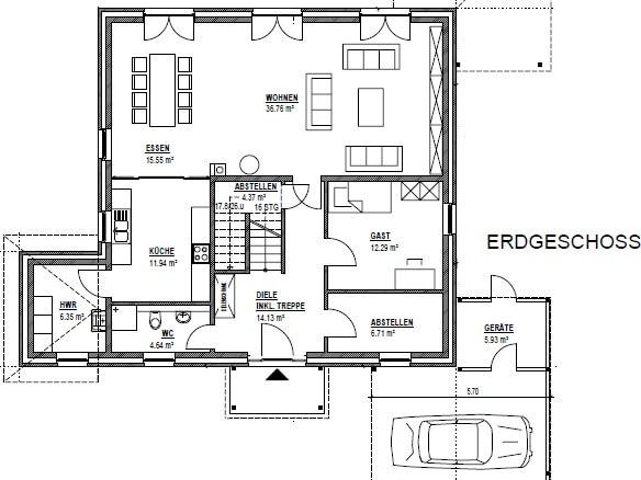 112 grundriss stadtvilla stadtvilla novo von kern haus attraktive architektur stadtvilla. Black Bedroom Furniture Sets. Home Design Ideas