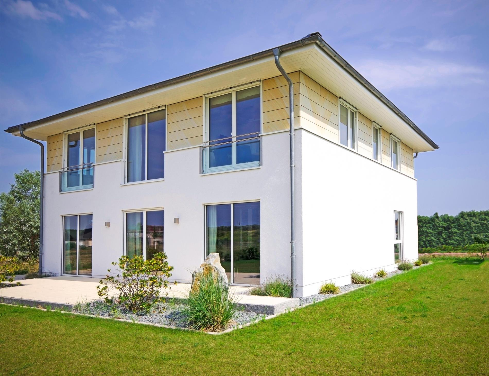 Stadtvilla 198 stadtvilla grundriss modern mit knapp 200 qm for Stadtvilla grundriss